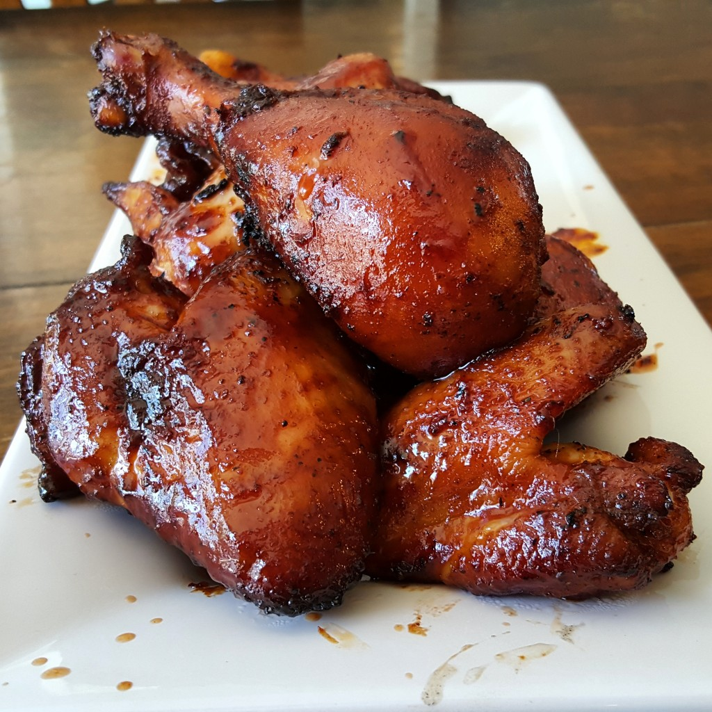 Smoked chicken wings...and drumsticks!