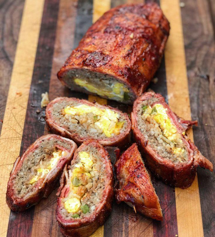 Bacon-weave Breakfast Fatty