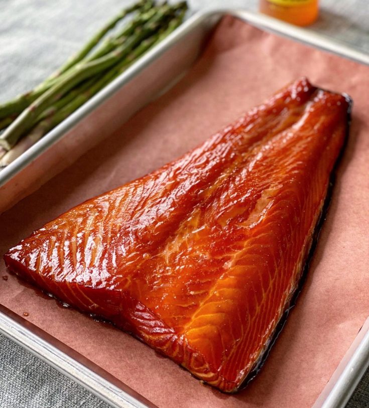 Smoked Salmon fillet finished